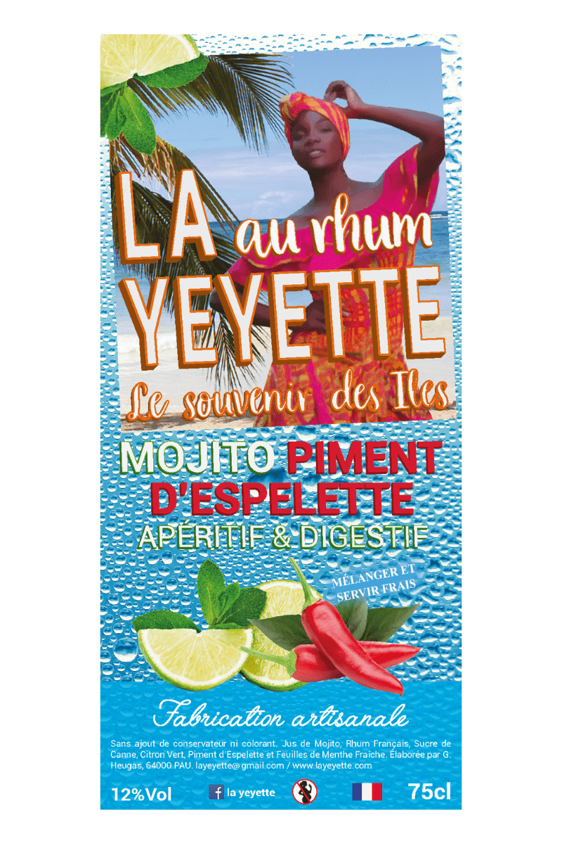 La Yeyette 12% Mojito Piment Espelette