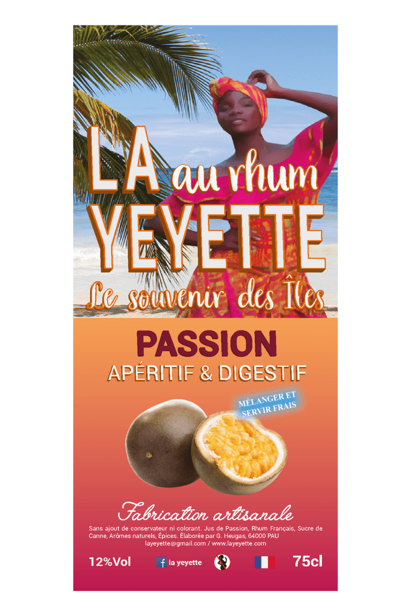 La Yeyette 12% Punch Passion